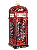 Christbaumschmuck-Weihnachtskugel-Englische Telefonzelle 0592.12