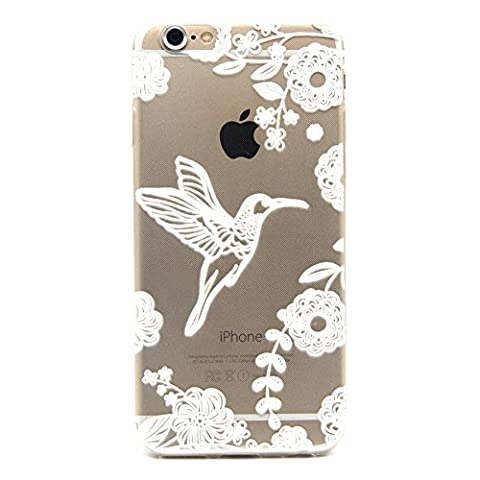 iPhone 6 6S (4,7 Zoll) Hülle,BONROY® Muster TPU Case SchutzHülle