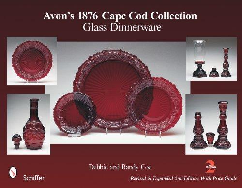 Avon's 1876 Cape Cod Collection: Glass Dinnerware Avon 1876 Cape Cod Ruby