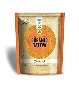 Organic Tattva Corn Flour, 500g