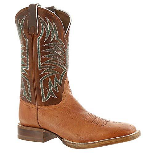 Justin Hombres Cpx Collection 5250 Rechtwinklige Spitze Leder Western Stiefel Braun Groesse 8.5 US /42 EU - Justin Western Cowboy Stiefel