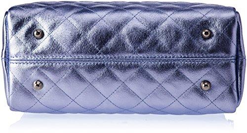 Chicca Borse 8847, Borsa a Spalla Donna, 26x19x10 cm (W x H x L) Blu (Blue)