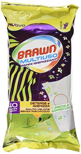 Brawn Salviette Multiuso X 40 - [confezione da 6]