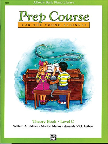 Prep Course for the Young Beginner,  Theory Book, Level C (Alfred's Basic Piano Library)