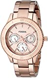 Fossil Designer Analog Gold Dial Women's Watch - ES2859