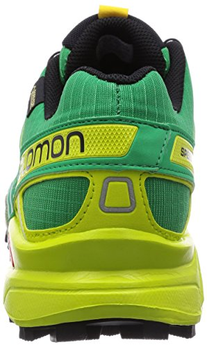 Salomon Speedcross 3 Gtx, Salomon Speedcross 3 GTX Dark Khaki Black Iguana Green 43 homme Multicolore (Real Green/Gecko Green)