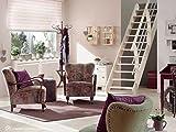 Intercon® Living Raumspartreppe aus Massivholz Fichte oder Buche, variabler Neigungswinkel (Fichte)