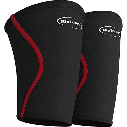 Compression Elbow Sleeves By Rip Toned - (PAIR) Perfect Support for Tennis, Golf, Basketball and (Extra Strength Calcio)