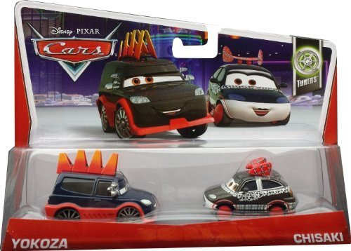 Disney Pixar Cars Yokoza & Chisaki (Tuners, #6, #7 of 10) by Mattel