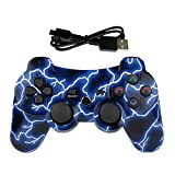 Mando PS3 Inalámbrico para PS3 Controller Bluetooth para Playstation 3 - Lightning Blue