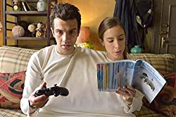 36inch x 24inch/90cm x 60cm Man Seeking Woman Silk Poster Christmas Gift For Family Best Gift For Children
