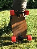 Ovalboards Mini Cruiser Komplett Board Bambus Deck Longboard Skateboard