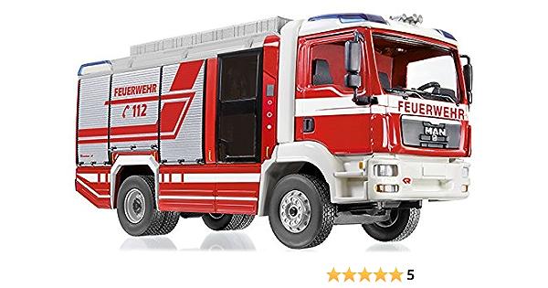 Wiking H0 1:87 MAN TGL Feuerwehr LF 10//6 CL rot 614 01 37 NEU NOS OVP