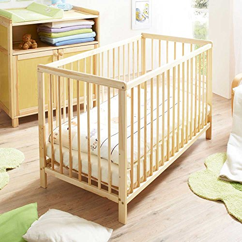 Pharao24 Baby-Sprossenbett Alino aus Kiefer
