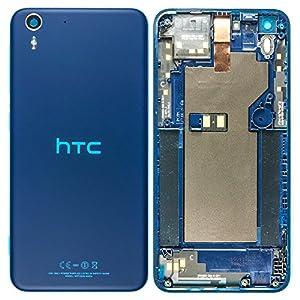 Original HTC Akkudeckel darkblue / dunkelblau für HTC Desire Eye M910n (Akkufachdeckel, Batterieabdeckung, Rückseite, Back-Cover)