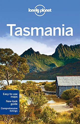 Lonely Planet Tasmania Regional Guide (Map-tasmanien)