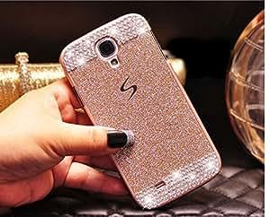 Coque Samsung Galaxy A5, Extreme Deluxe Bling Etui Housse téléphone couverture de diamant main Crystal Clear Rhinestone de protection de peau Case Cover pour Samsung Galaxy A5 - Gold