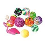Zolux Fantaisies Jouet Pack de 12 Balles pour Chat