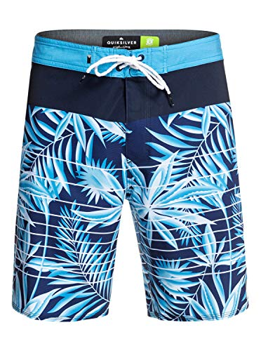 QUIKSILVER Highline Drained out Board Short, Hombre, Electric Royal, 32