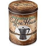 Nostalgic-Art 30517 Coffee und Chocolate House, Vorratsdose Rund