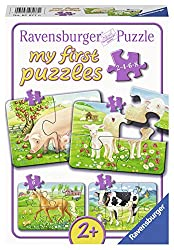 Ravensburger 07077 07077-my First Puzzles: Unsere Lieblingstiere- Kinderpuzzle