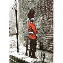 Banksy Queens Guard (La Guardia de la Reina) Arte - Poster - 42x58 cm