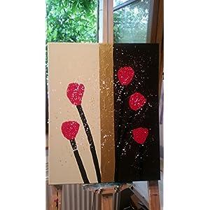 Bild, abstrakt, modern, Malerei, Kunst, Original, Acryl, Gemälde, handgemalt, Unikat, 40x50cm