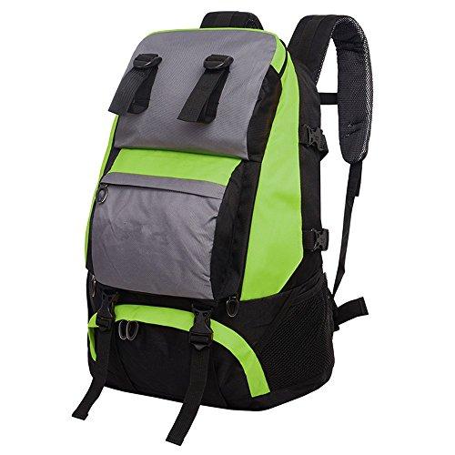Outdoor-RucksackmännlicheundweiblicheBergsteigenTascheSchultertascheReisenWandernTaschewasserdichtbackpack,green(40L) green(40L)