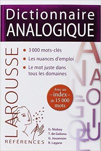 Dictionnaire analogique de René Lagane ( 7 janvier 2015 ) par René Lagane