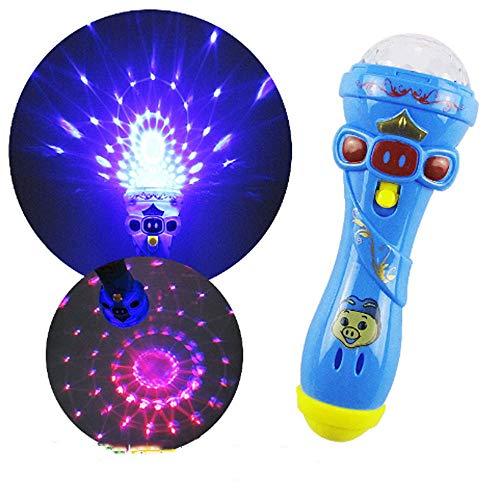 AIOJY Kind Cartoon Baby Kugel beleuchten Spielzeug licht Stick Spielzeug leuchtstock kreative Batterie schnickschnack mikrofon Flash Stick kleines Spielzeug (In Glühen Den Dunklen Zauberstab)