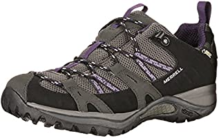 Merrell Siren Sport Gore-Tex, Women's Speed Laces Trekking and Hiking Shoes - Black