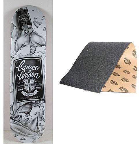 Darkstar Skateboard-Deck Rider Stock Cameo Wilson 20,32 x 80,64 cm, Impact/Mob Grip