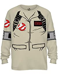 Ghostbuster VENKMAN Adult LONG SLEEVE Costume T-Shirt With Back Print