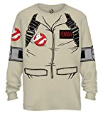 Best Mad Engine Mens Costumes - Ghostbuster VENKMAN LONG SLEEVE Costume T-Shirt With Back Review