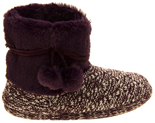 Femmes 'Coolers' Chaussures à lacets Prune