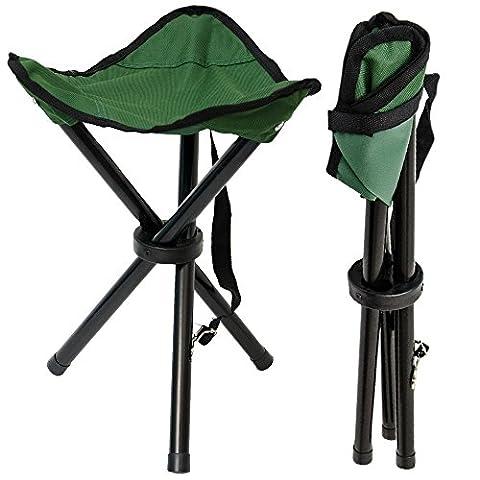 Tabouret Pliant pour camping pêche randonnée pique-nique