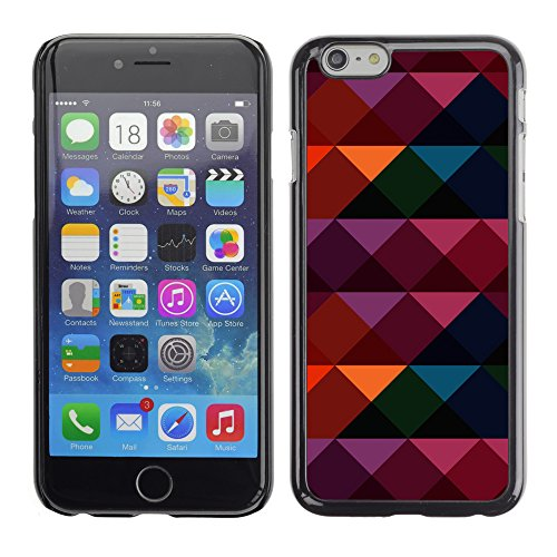 Graphic4You CIRCLE TRIANGLE Muster Harte Hülle Case Tasche Schutzhülle für Apple iPhone 6 / 6S Design #6