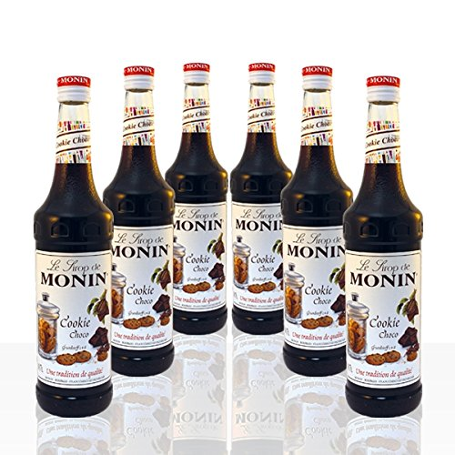Monin Sirup Cookie Choco 6 x 0,7 l (Cookie-eis)