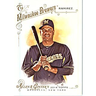 2014 Topps Allen & Ginter Baseball Card # 291 Aramis Ramirez, Milwaukee Brewers