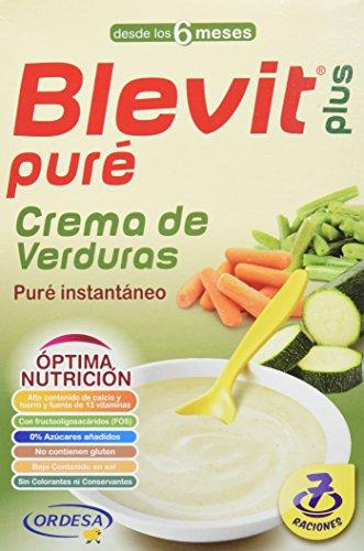 Blevit Plus Puré Crema de Verduras Cereales - 280 gr