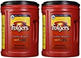 Folgers Coffee Classic IZAVD Roast, 48 Ounces (2 Pack)