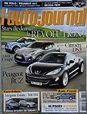 AUTO JOURNAL (L') [No 784] du 27/08/2009 - STARS DE DEMAIN - LA REVOLUTION - CITROEN DS3 - MINI COUPE - PEUGEOT RCZ - MEGANE ESTATE - 308 SW - CITROEN C5 V6 HDI 240 CH - 46 PAGES D'ESSAIS - VX POLO - PEUGEOT 207 - UN SUV SOBRE ET PAS CHER - SKODA YETI