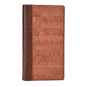 Jo Jo Cover Bark Series Leather Pouch Flip Case For Oppo Find 7 Light Brown