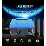 proiettore Portatile,Proiettore da Mini proiettore a LED per Videogiochi Proiettore per Videogiochi Beamer EU Plug