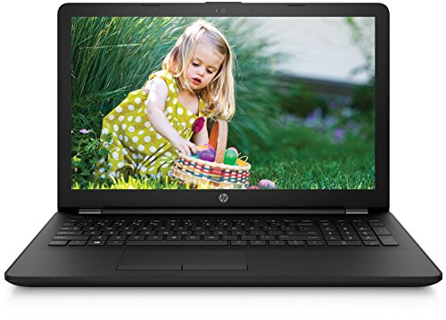 HP HP 15 HP Notebook 15-BS548TU 2017 15.6-inch Laptop (Celeron N3060/4GB/500GB/Windows 10 Home Single Language(64 Bit)/Integrated Graphics), Jet Black