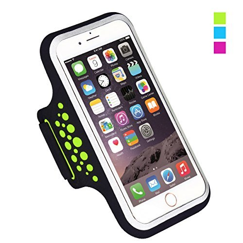 Sportarmband Compatible with iPhone X XR XS Plus, Running Sport Armband Arm Band Tasche Handy Halter
