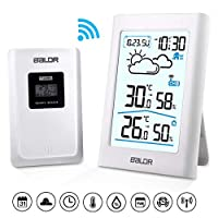 iRegro Weather Station with Indoor/Outdoor Wireless Sensor(white)