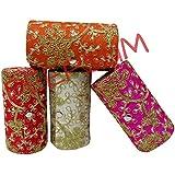 Deepsum Bangle Box/Bangle Organizer Box/Jewellery Storage Box/Jewellery Pouch/Vanity Bag Bangle Box for Women Wedding Gift -