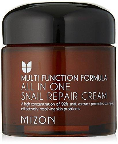 Mizon All in One Snail Repair Creme, 75 Gramm (Intensive Repair Night Creme)