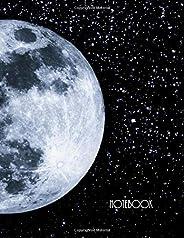 Notebook: Stars & Moon Notebook, Journal